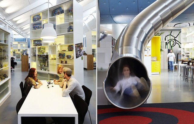 Ngỡ ngàng với những văn phòng làm việc đẹp nhất thế giới - 12