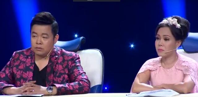 Việt Hương và Quang Lê cũng bùi ngùi trước diễn xuất của Vân Trang và Vĩ Dạ.