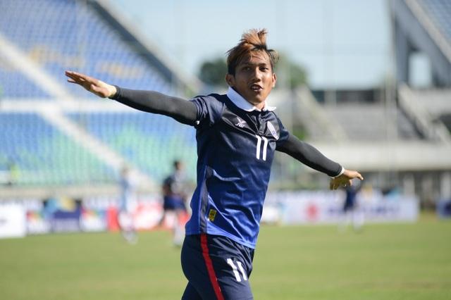 Chan Vathanaka là cầu thủ vô cùng đáng sợ với hàng thủ tuyền Việt Nam