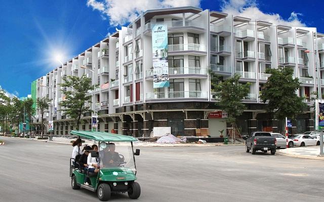 Các tuyến phố thương mại tại các khu đô thị hiện đại đang là tâm điểm thu hút đầu tư thị trường bán lẻ.