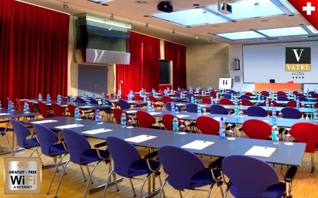 Phòng họp tại khách sạn Vatel tại trường Vatel Thuỵ Sĩ
