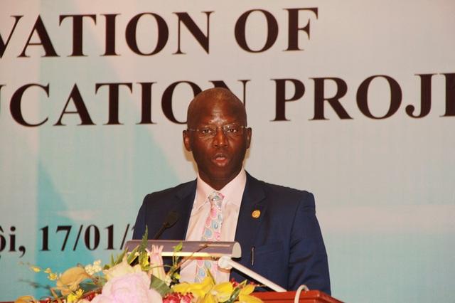 Ousmane Dione – Giám đốc Quốc gia Ngân hàng Thế giới tại Việt Nam bày tỏ cam kết đồng hành hỗ trợ Việt Nam thực hiện thành công dự án RGEP.