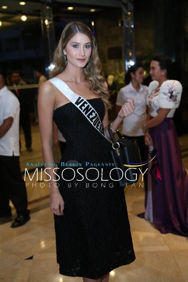 Hoa hậu Venezuela - một trong những gương mặt sáng giá nhất cuộc thi năm nay và đã giành được một giải phụ.