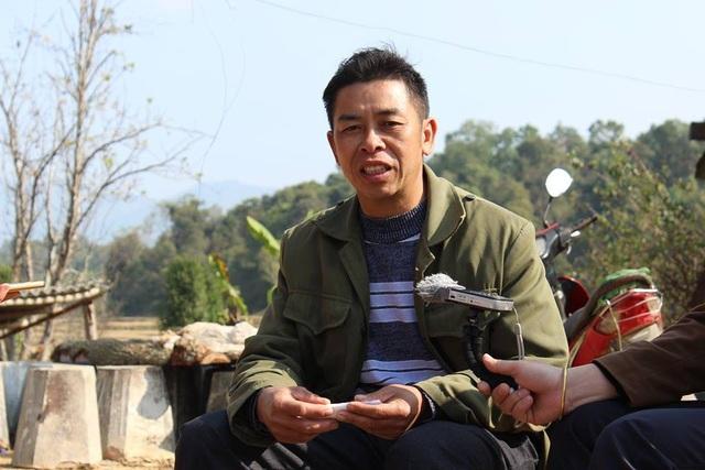 Anh Vì Văn Thành cho biết, áp dụng bản tin thời tiết trong sản xuất, năng suất mùa vụ cao hơn.