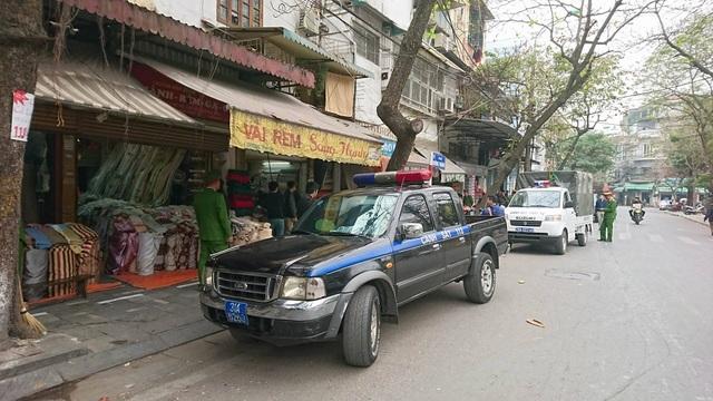 Lực lượng liên ngành quét trên nhiều tuyến phố