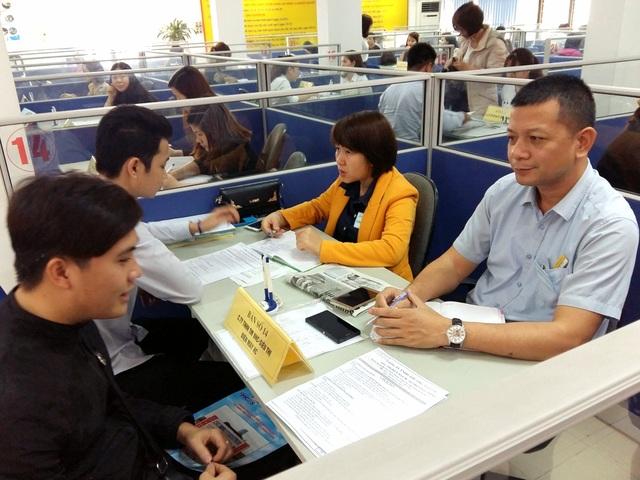 Phiên GDVL thanh niên sáng 21/3 tại TT DVVL Hà Nội