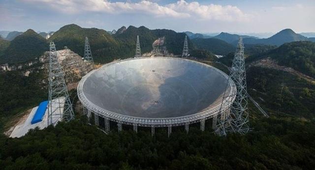 Kính viễn vọng của Trung Quốc. (Nguồn: Getty Images)