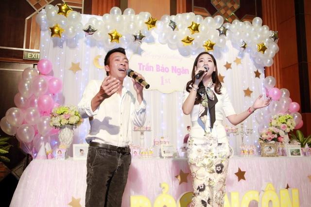 Bà xã ca sĩ Đăng Dương đẹp ngỡ ngàng trong tiệc sinh nhật con gái Bùi Lê Mận - 8