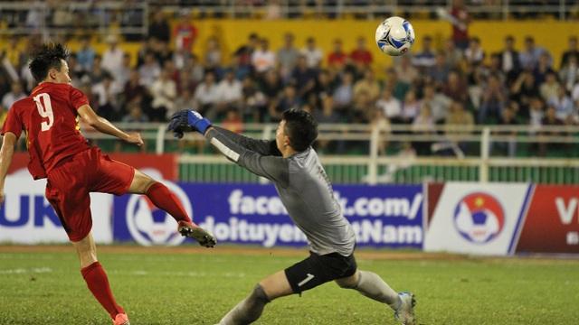 U22 Việt Nam cần tối thiểu 1 trận hoà trước Hàn Quốc (ảnh: Trọng Vũ)