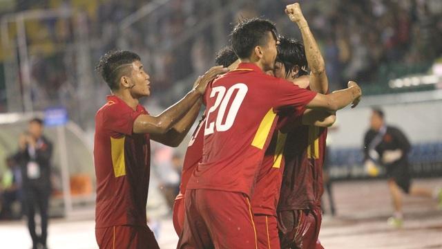 U22 Việt Nam khởi đầu thuận lợi khi thắng đậm U22 Đông Timor