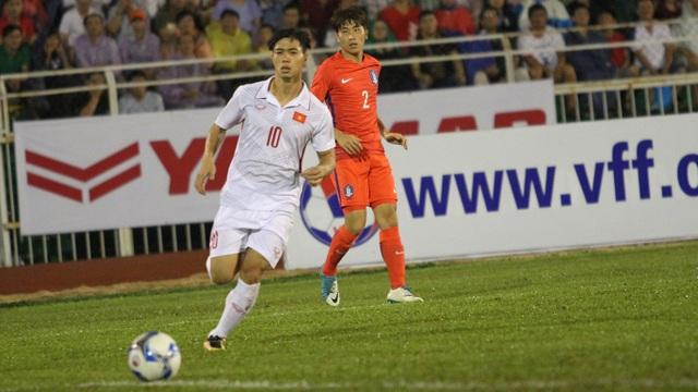 Công Phượng gỡ hòa 1-1 cho U22 Việt Nam