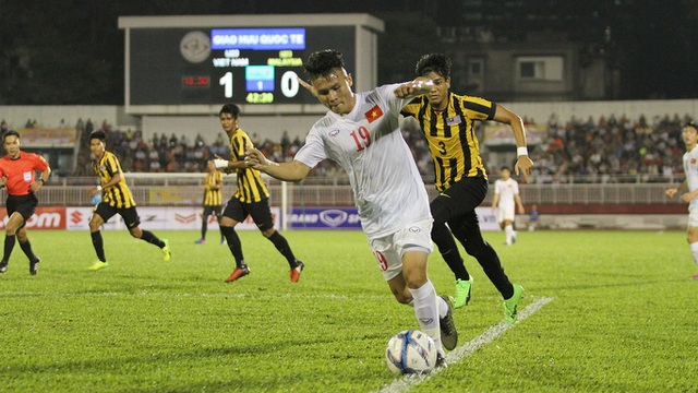 Quang Hải bỏ lỡ khá nhiều cơ hội ở trận đấu này