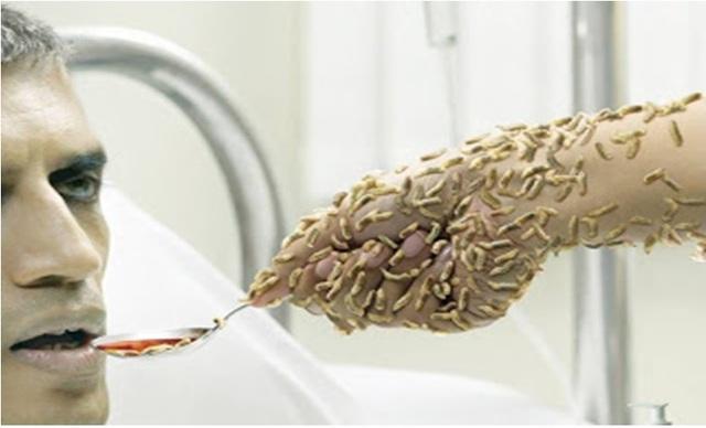 Giật mình có hàng trăm triệu mầm bệnh hiện diện trên bàn tay - 1