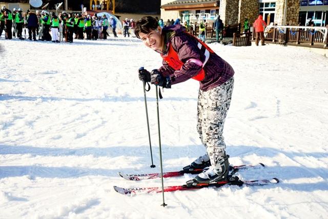 Thành phố Pyeongchang thuộc tỉnh Gangwon vốn được mệnh danh là thiên đường trượt tuyết châu Á.