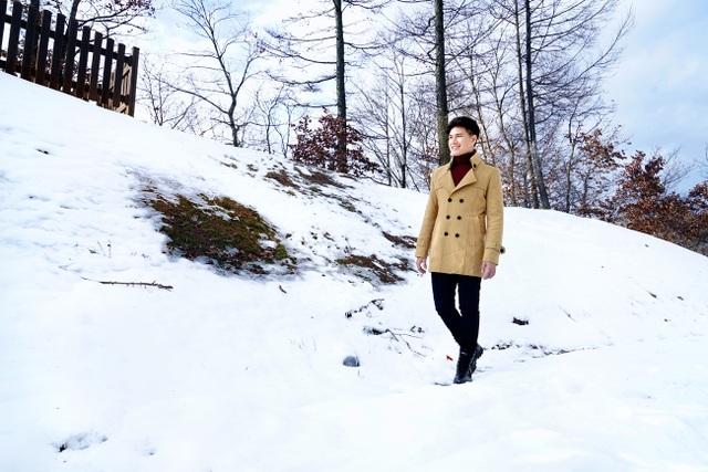 Phong cảnh tuyết rơi ở Pyeongchan luôn đẹp và đưa đến những xúc cảm thật yên bình.