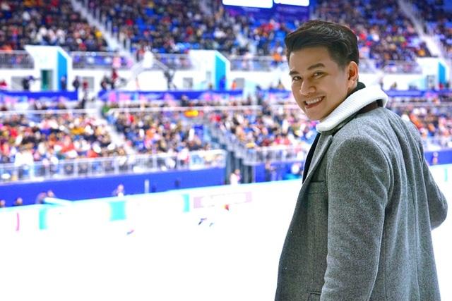 Bên cạnh việc được thưởng thức cảnh đẹp hoang sơ, Vũ Mạnh Cường cho biết, không thể không nhắc đến cơ hội lần đầu tiên được trải nghiệm phòng chiếu 4D và sự kiện thử nghiệm chung kết trượt băng cự ly ngắn tại Olympic.