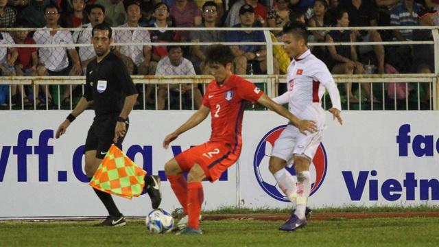 U22 Hàn Quốc chơi chậm rãi ở hiệp 2 để bảo toàn lợi thế