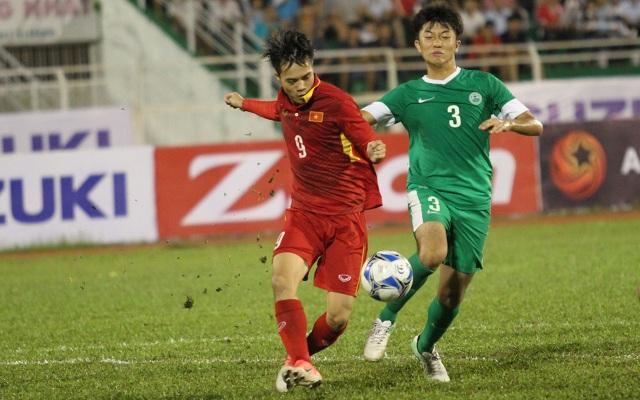 Văn Toàn sẽ có suất đá chính trước Hàn Quốc (ảnh: Trọng Vũ)
