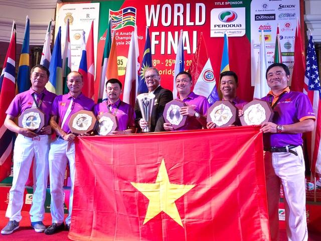 Đội tuyển TPBank WAGC Việt Nam làm nên kì tích khi lần đầu tiên vô địch thế giới