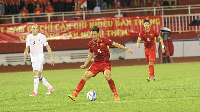 Đội tuyển Việt Nam đã chơi tốt, nhưng không thể ghi bàn - Ảnh: Trọng Vũ