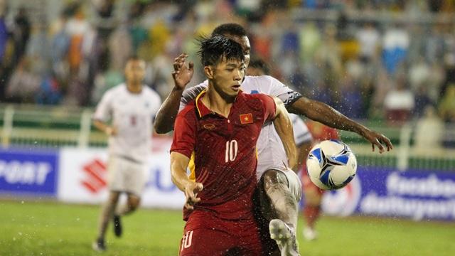 Ông Lâm đánh giá cao vai trò của Công Phượng ở đội tuyển U22 Việt Nam (ảnh: Trọng Vũ)