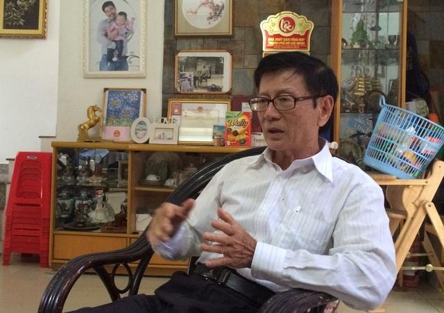 TS Võ Kim Cương - nguyên Phó kiến trúc sư trưởng TPHCM