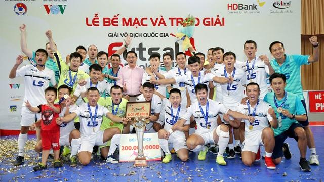 Tân vô địch Thái Sơn Nam sẽ tham dự giải các CLB châu Á 2018