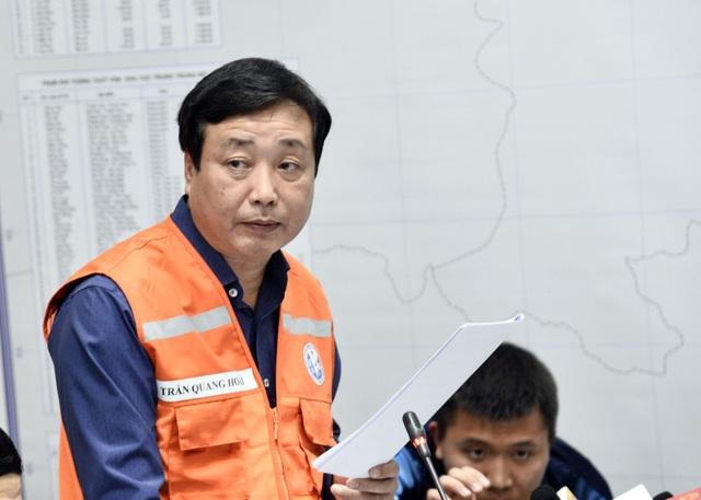 Ông Trần Quang Hoài phát biểu tại cuộc họp.