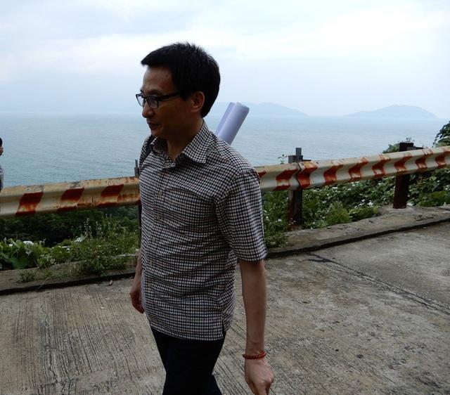 Phó Thủ tướng Vũ Đức Đam thị sát bán đảo Sơn Trà - 1