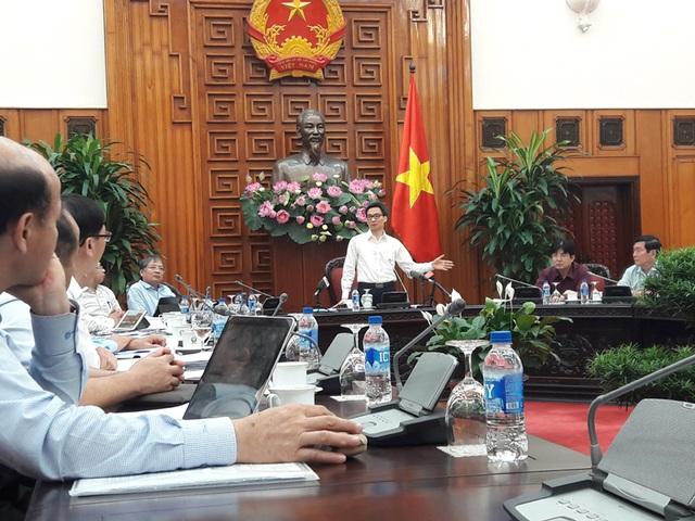 Phó Thủ tướng chủ trì cuộc họp với các Bộ, ngành liên quan và UBND TP. Đà Nẵng.