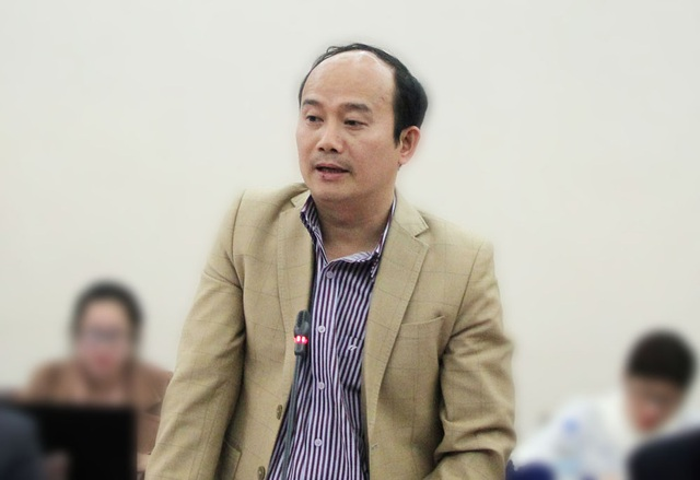 Ông Vũ Duyên Hải phát biểu tại cuộc họp báo.