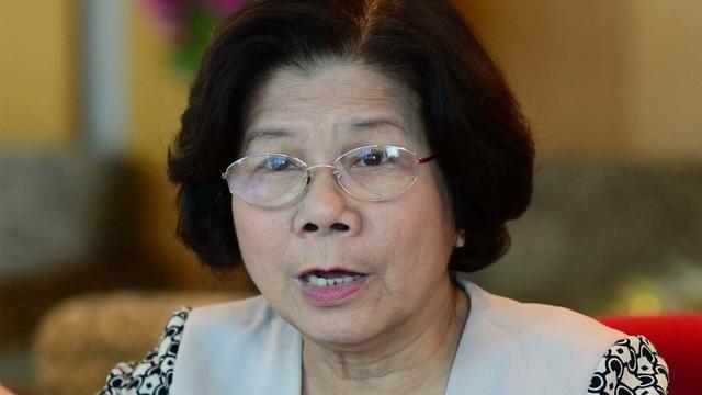 bà Vũ Kim Hạnh Chủ tịch Hội Doanh nghiệp Hàng Việt Nam Chất lượng cao
