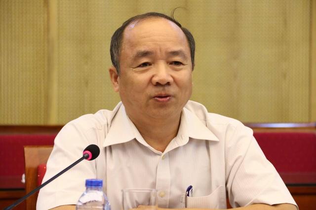 Ông Vũ Quang Các, Vụ trưởng Vụ Quản lý quy hoạch , Tổ trưởng Tổ soạn thảo Dự thảo Luật Quy hoạch