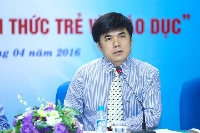 Ông Bùi Văn Linh - Phó Vụ trưởng Phụ trách Vụ Giáo dục Chính trị và Công tác học sinh, sinh viên (Bộ GD&ĐT)