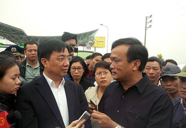 Ông Vũ Văn Viện thông tin về việc sẽ có cuộc đối thoại với các nhà xe vào ngày mai.