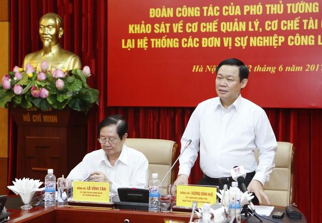Phó Thủ tướng: Nâng cao chất lượng dịch vụ công, phù hợp với khả năng chi trả của xã hội và nhu cầu tiếp cận dịch vụ của người dân.