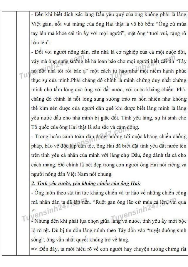 Gợi ý giải đề thi môn Văn vào khối 10 chuyên ĐH Sư phạm Hà Nội - 8