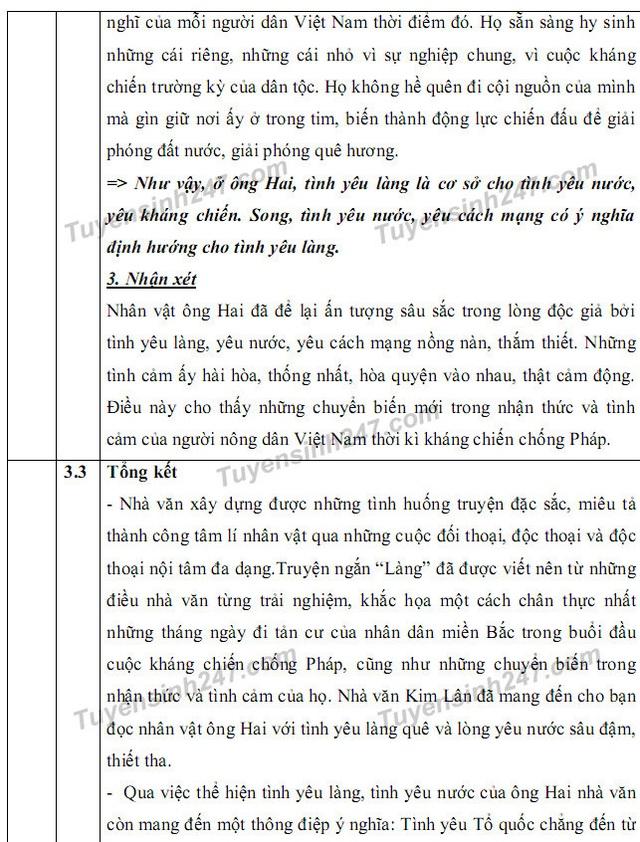 Gợi ý giải đề thi môn Văn vào khối 10 chuyên ĐH Sư phạm Hà Nội - 10