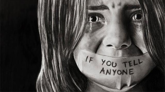 Sự im lặng còn đáng sợ hơn sự xâm hại. (ảnh minh hoạ)