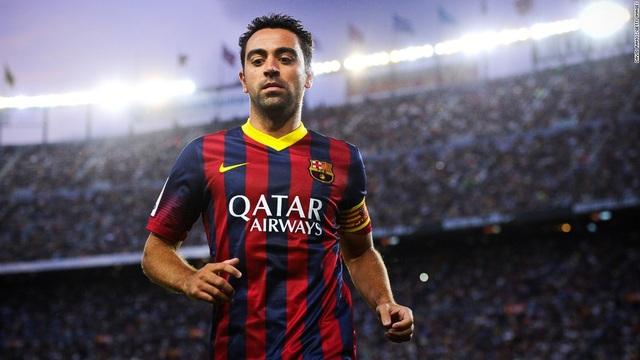 Xavi là bậc thày ở khu vực giữa sân