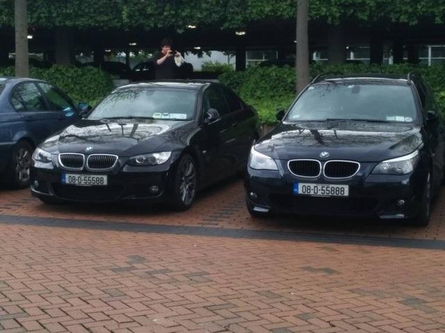 Tìm điểm khác biệt giữa hai chiếc biển số xe!