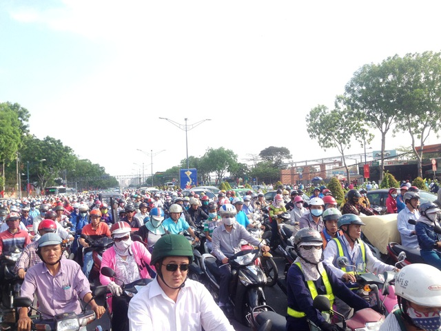 Sở GTVT TPHCM khẳng định chưa cấm xe máy từ năm 2030