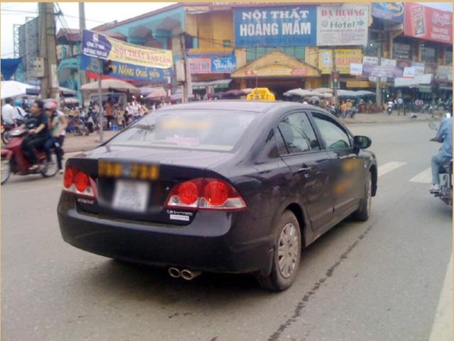 Một lượng không nhỏ xe Civic số sàn cũng được sử dụng làm taxi. Ảnh minh họa