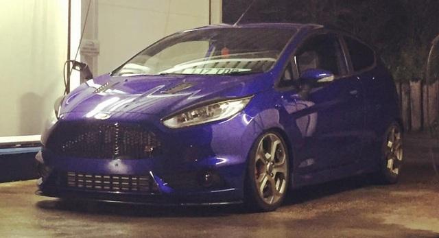 "Chiếc Ford Fiesta ST ""độ"" của Tom Putt"