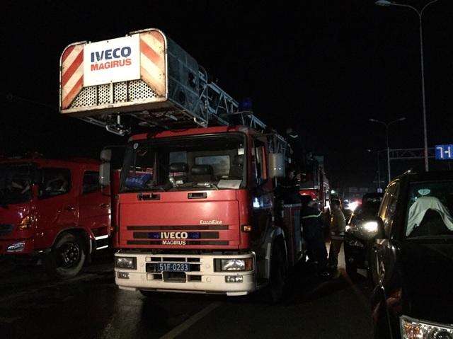 Đoàn xe của TP HCM đã có mặt để chia lửa với Cần Thơ