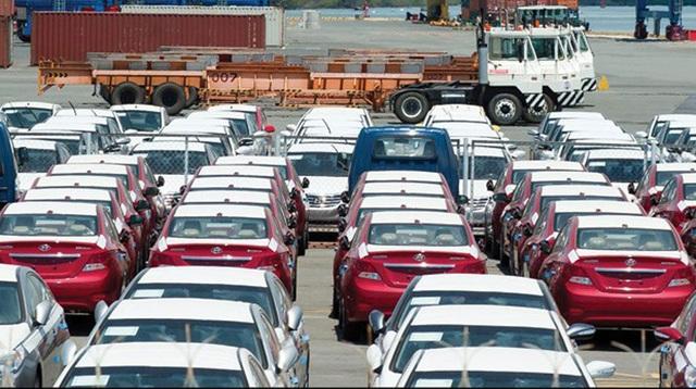 Xe nhập giảm mạnh về lượng trước cuộc chiến giảm giá xe của các liên doanh trong nước (ảnh minh hoạ)