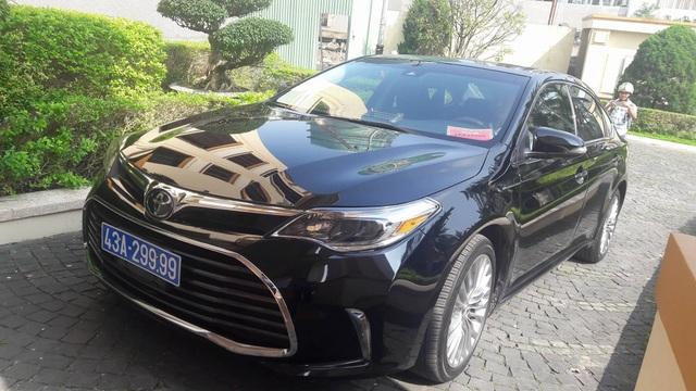 Chiếc xe doanh nghiệp tặng Đà Nẵng