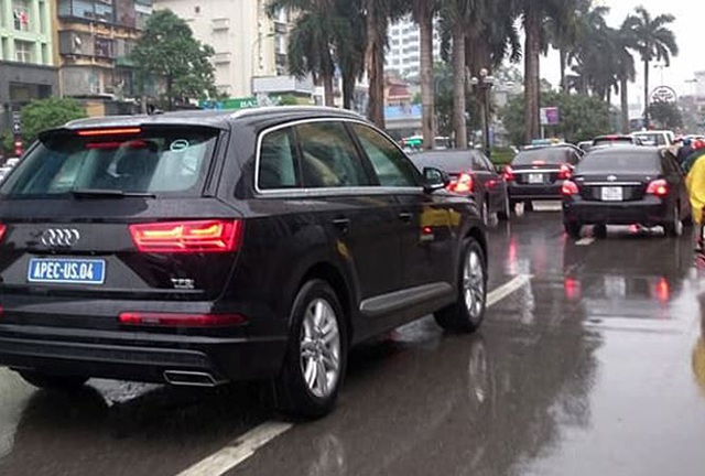 Xe Audi phục vụ APEC sẽ phải đóng thuế hơn 400 tỷ đồng - 1