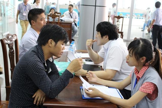 Hội chợ việc làm cho lao động EPS về nước - 1