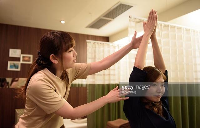 Hình thức massage của Nhật Bản (ảnh minh hoạ)